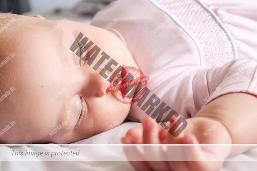 Baby im Schlaf